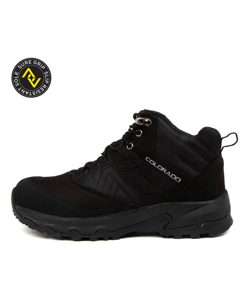 Buy Colorado Shirley Cf Black Ankle Boots online with free shipping