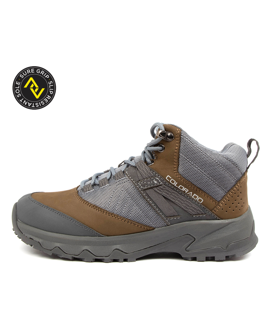 Buy Colorado Shirley Cf Grey Taupe Ankle Boots online with free shipping