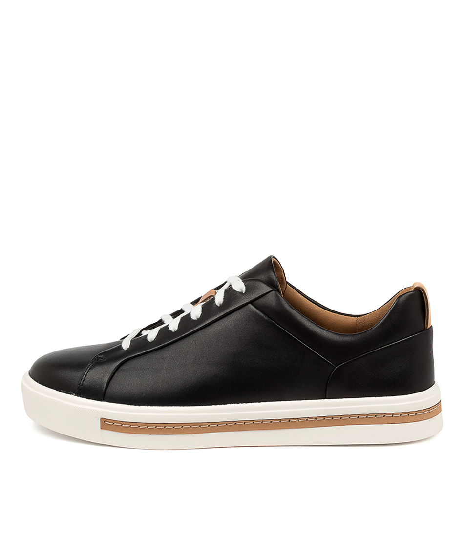 Buy Clarks Un Maui Lace W Ck Black Sneakers online with free shipping