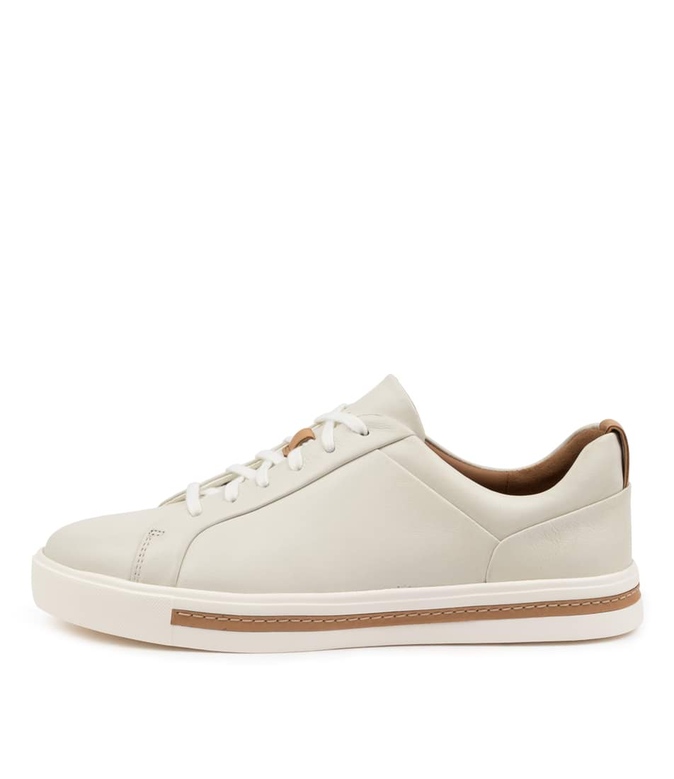 Buy Clarks Un Maui Lace W Ck White Sneakers online with free shipping