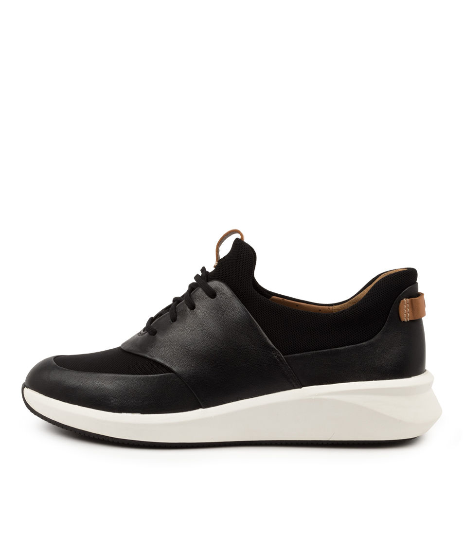 Buy Clarks Un Rio Lace W Ck Black Sneakers online with free shipping