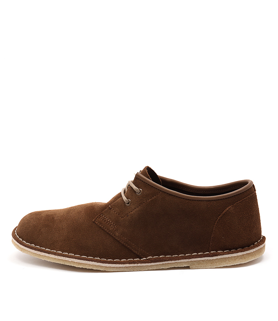 mens clarks originals brown jink 2 shoes