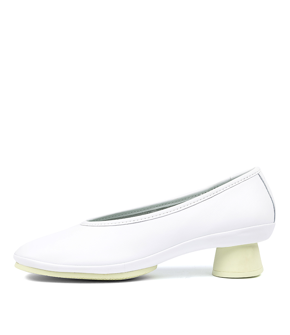 Buy Camper Alright White High Heels online with free shipping