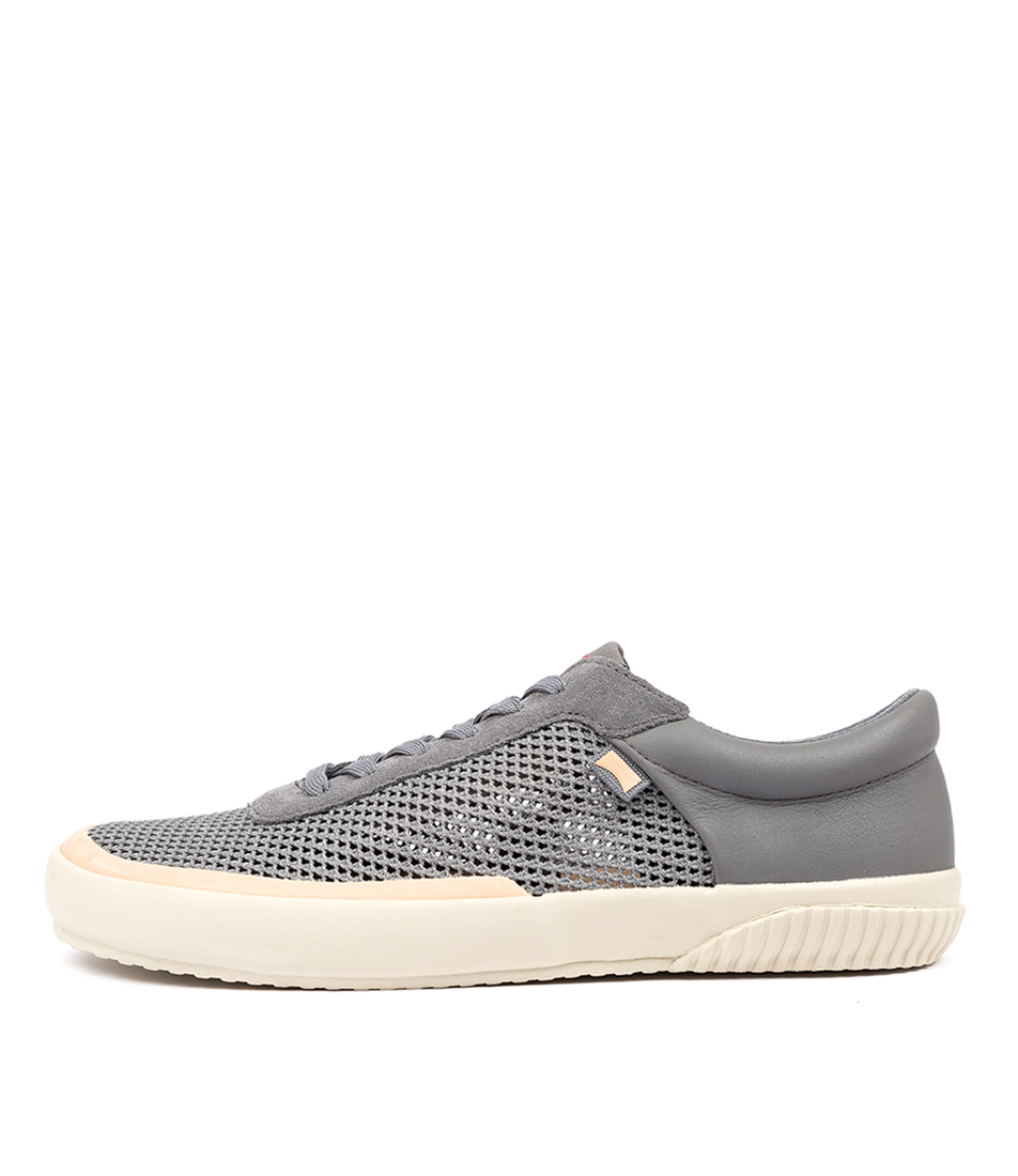 Buy Camper Peu Rambla Vulcanizado Grey Sneakers online with free shipping