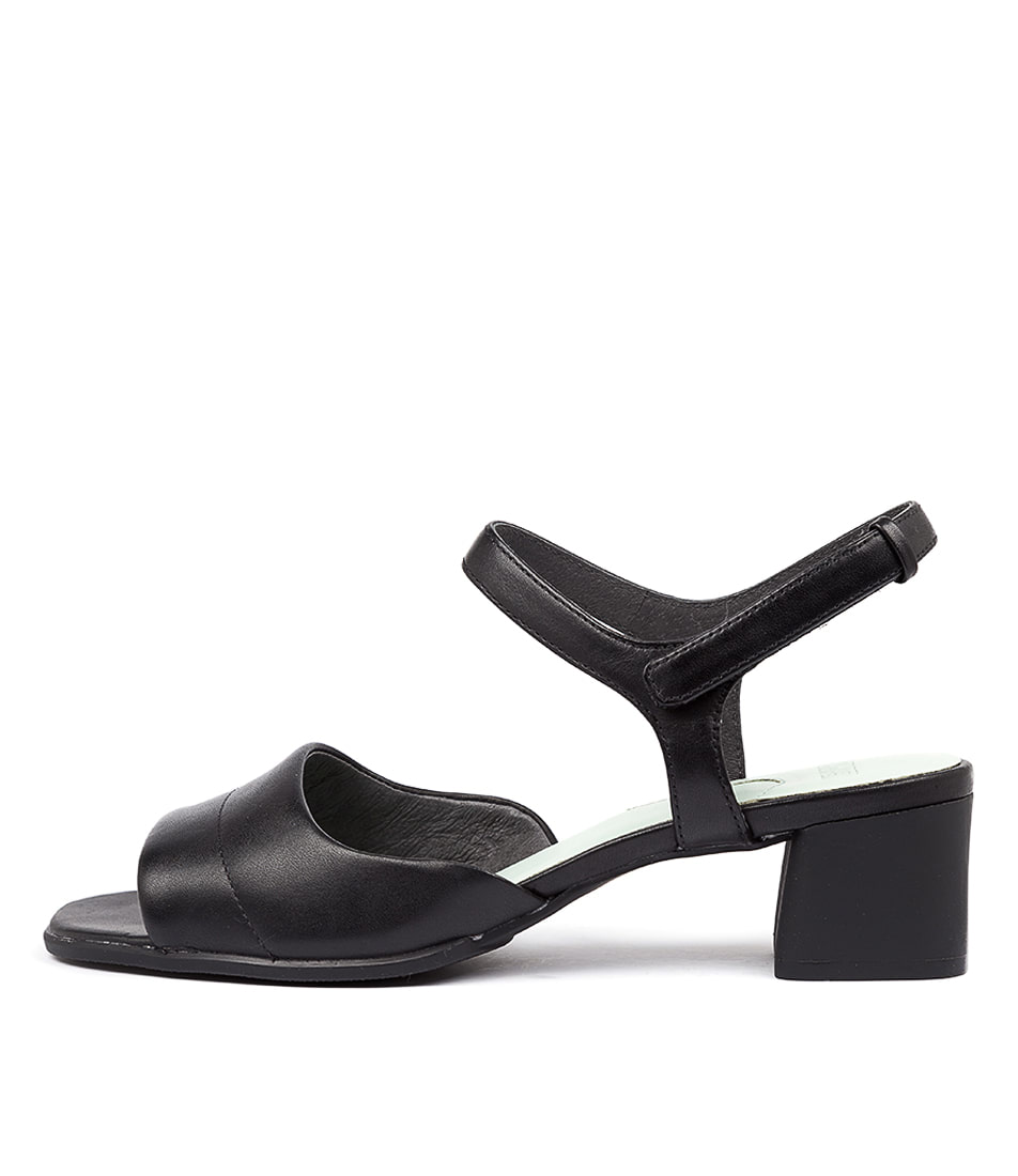 Buy Camper Katie Heeled Sandal Black Heeled Shoes online with free shipping