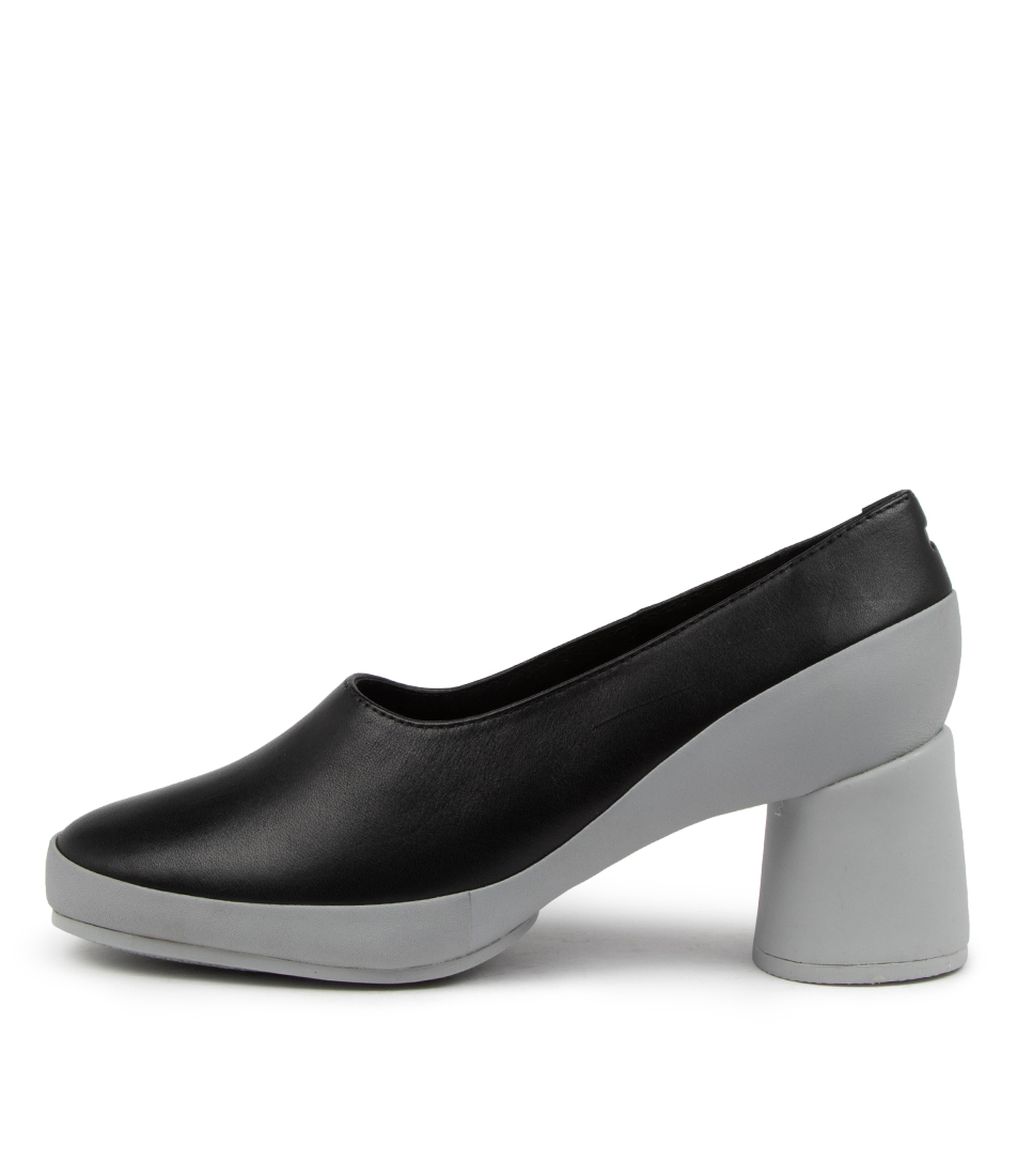Buy Camper Upright Pump Cm Black Grey Sole High Heels online with free shipping