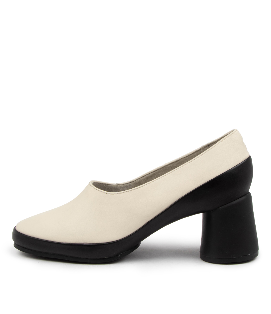 Buy Camper Upright Pump Cm Light Beige Black Sole High Heels online with free shipping