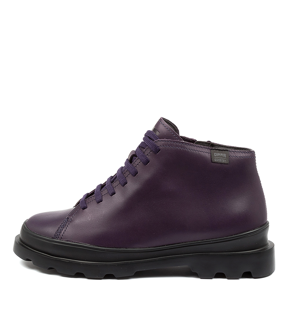 Buy Camper Brutus 266 Cm Dark Purple Ankle Boots online with free shipping