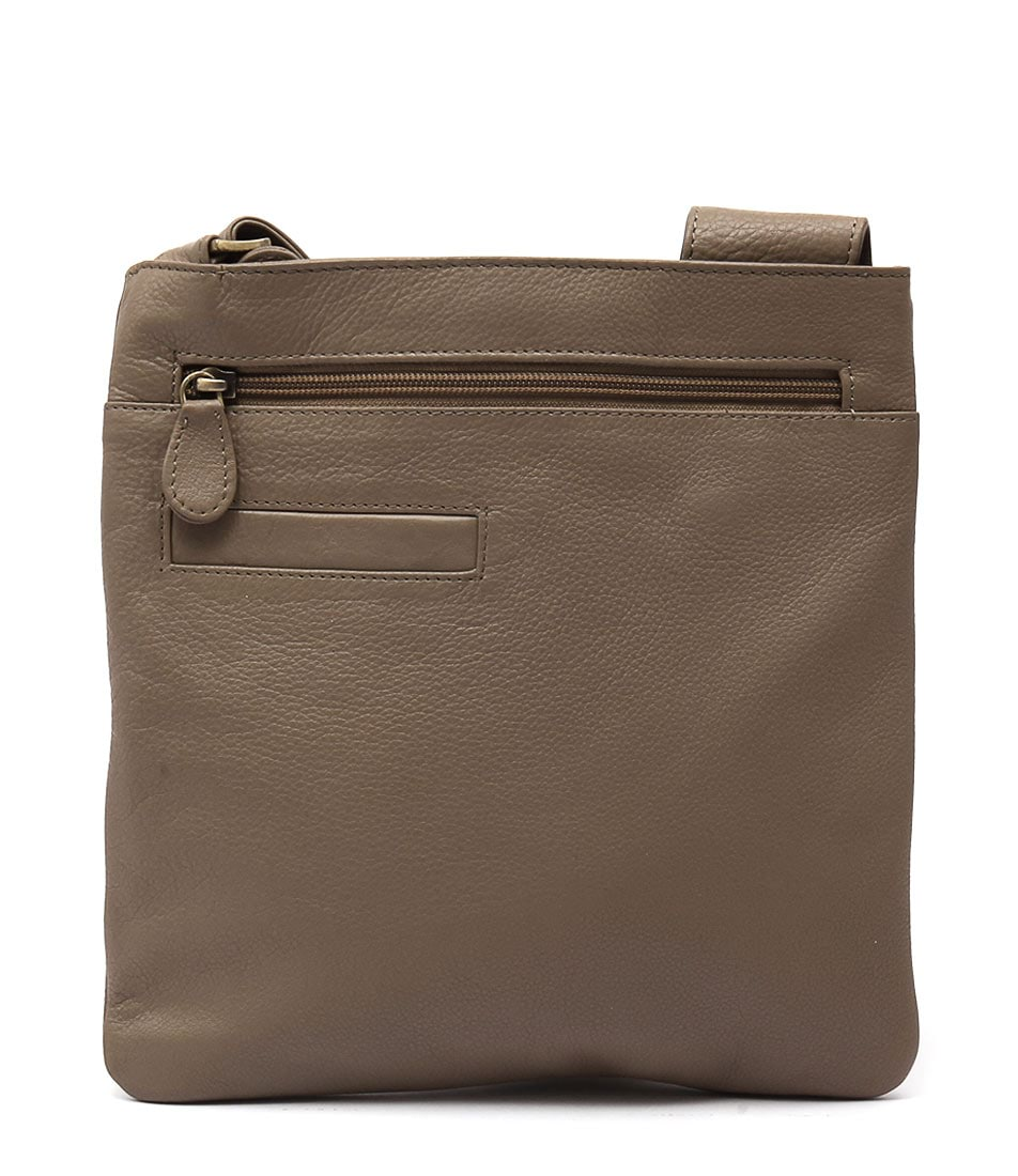 Condura Leather 20 516 Le233 Taupe Cross Body Bag