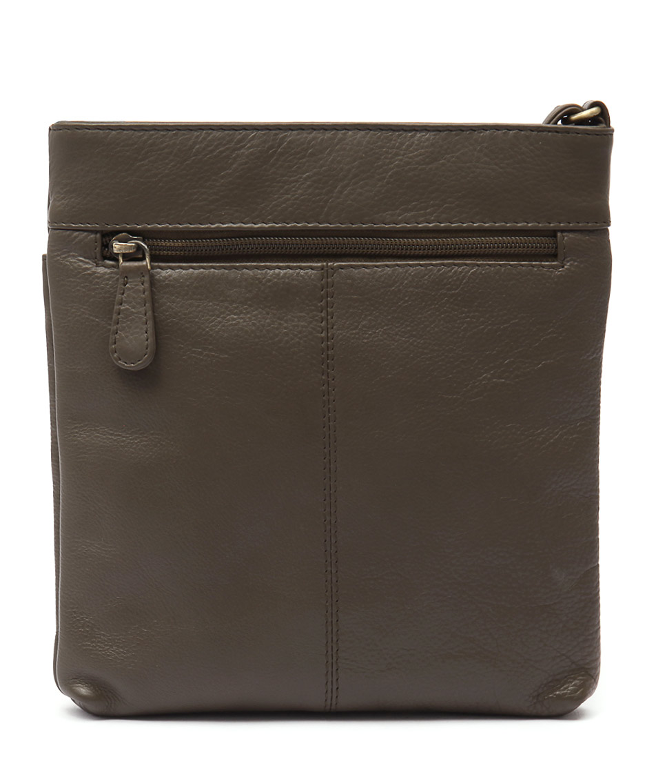 Condura Leather 22 516 Le1668 Taupe Cross Body Bags