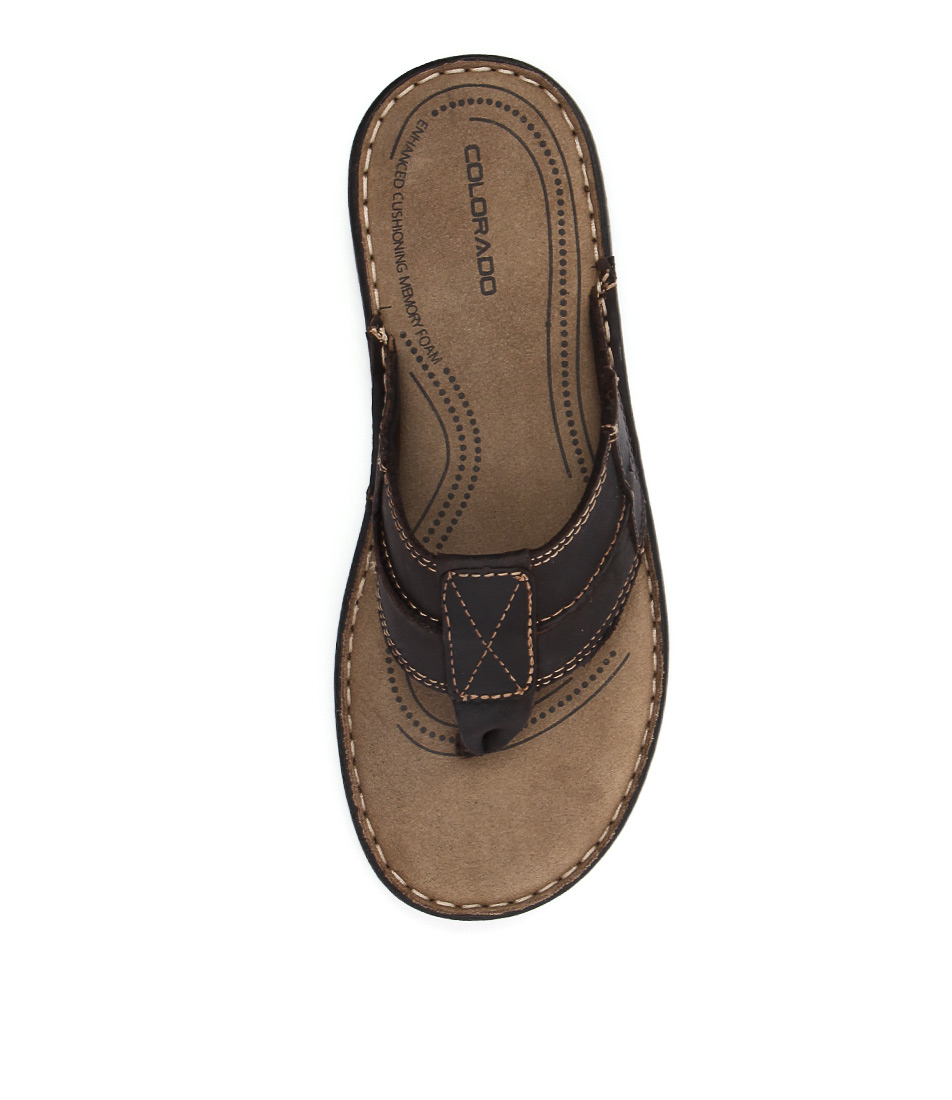 New Colorado Brock Cf Brown Mens Shoes Casual Sandals Sandals Flat