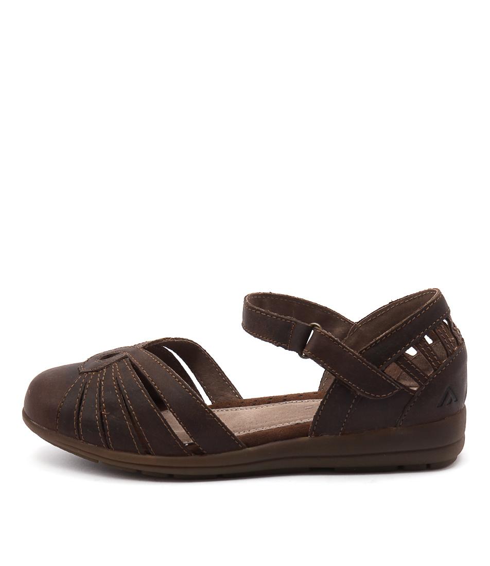 Colorado Saida Dark Tan Flat Shoes