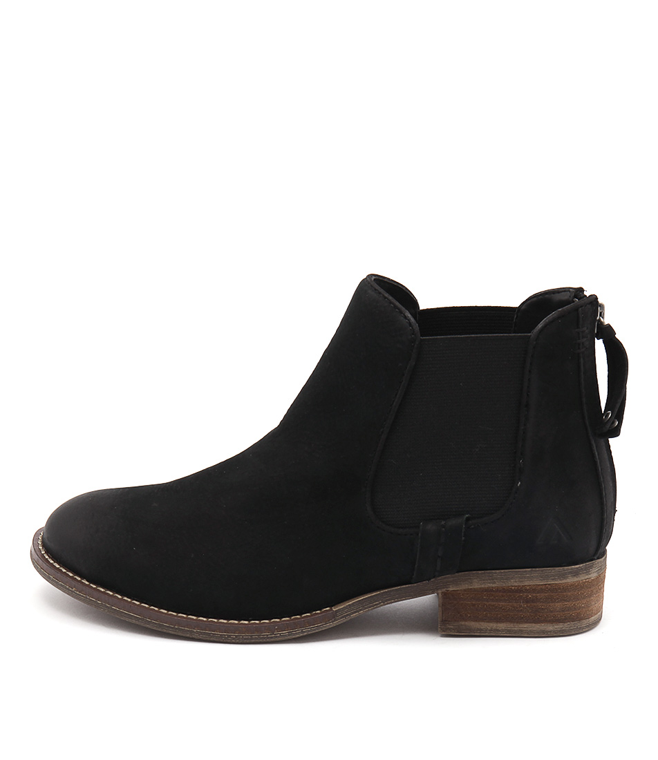 Colorado Dangerous Black Casual Ankle Boots