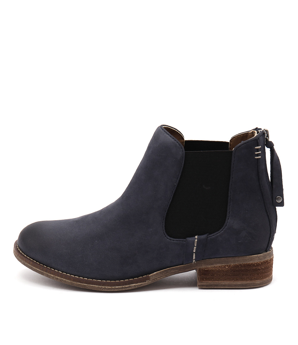 Colorado Dangerous Dark Blue Casual Ankle Boots