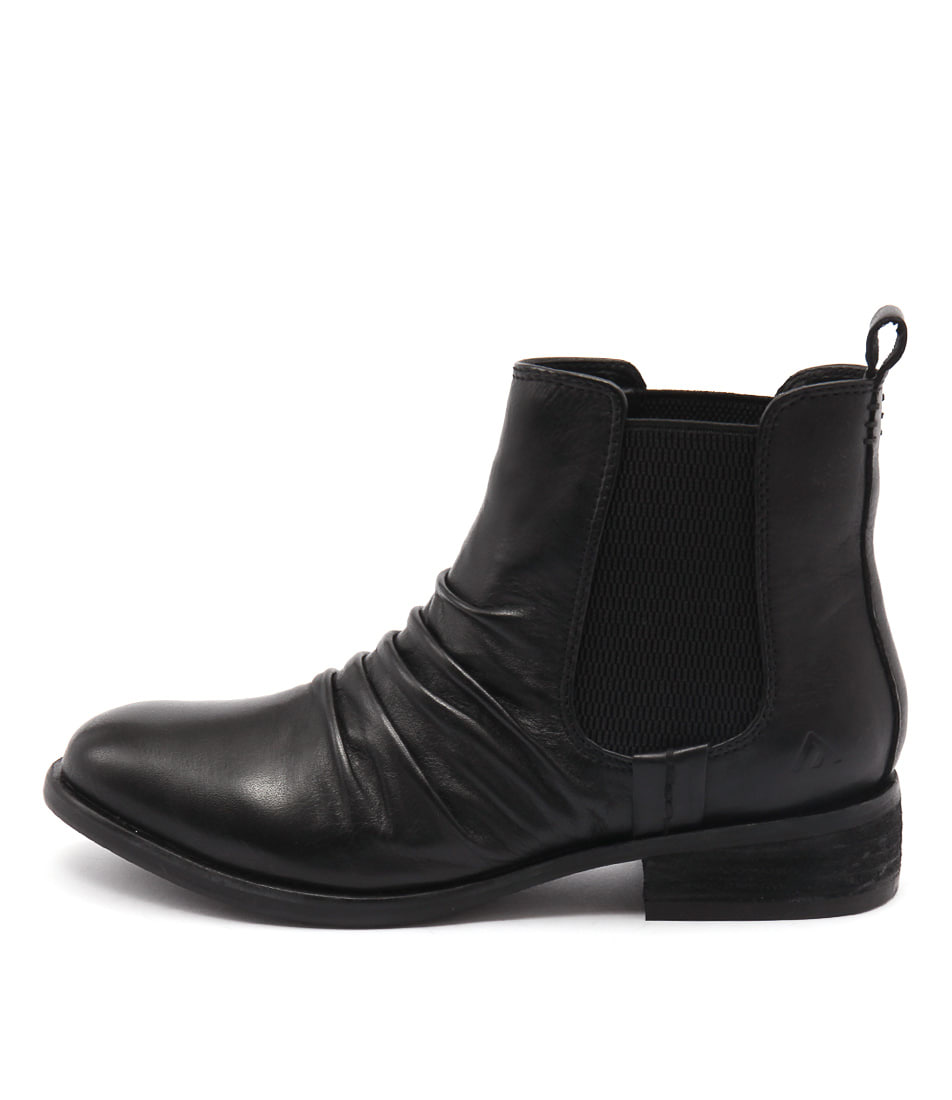 Colorado Elvin Black Ankle Boots