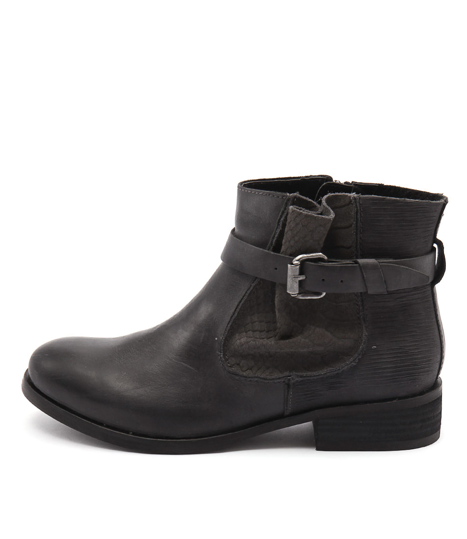 Colorado Escape Charcoal Casual Ankle Boots