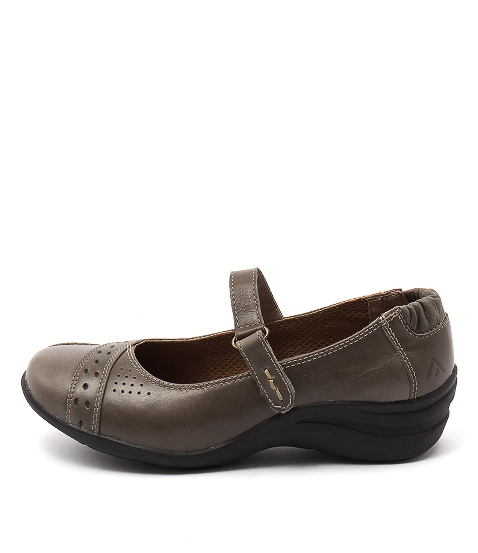 Colorado Bannie Dark Taupe Flat Shoes