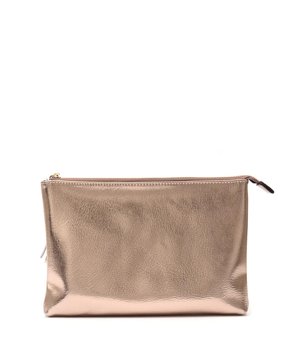 Cooper Street 163 Gold Clutch Bags