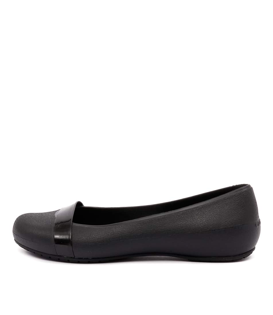 Crocs Brynn Flat Black Black Casual Flat Shoes