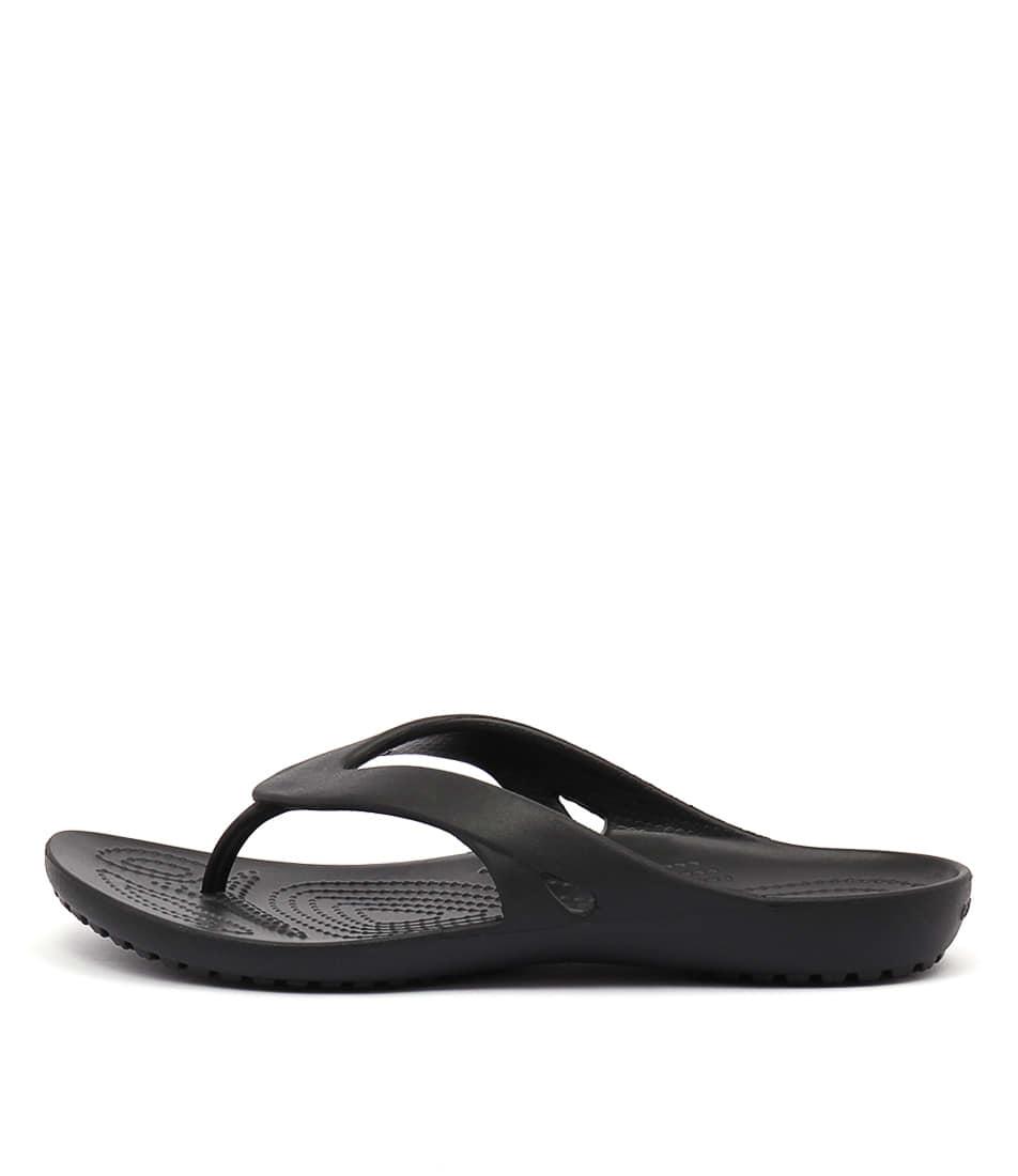 Buy Crocs Kadee Ii Flip Black Flat Sandals online with free shipping