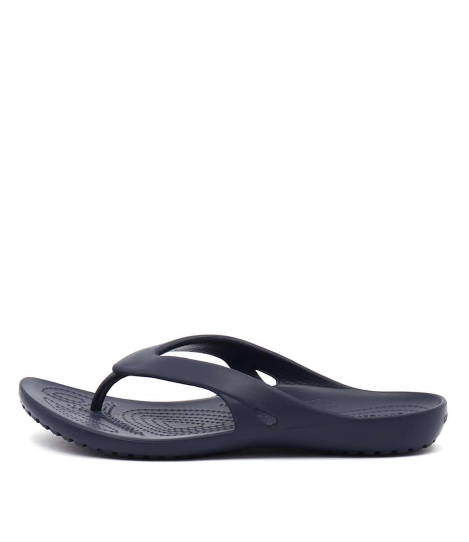 Crocs Kadee Ii Flip Navy Sandals
