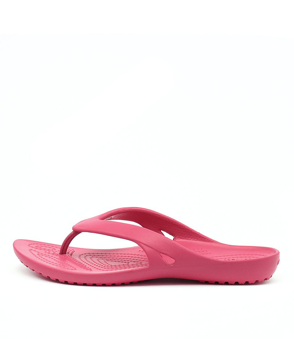 Crocs Kadee Ii Flip Raspberry Sandals