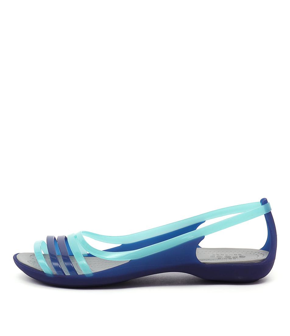 Crocs Isabella Huarache Cerulean Blue Sandals