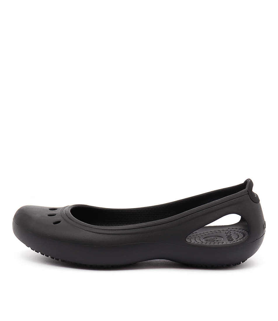 Crocs Kadee Work Flat Black Casual Flat Sandals