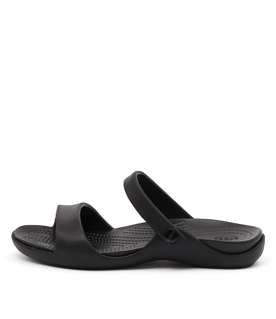 Crocs Cleo V Black Black Sandals