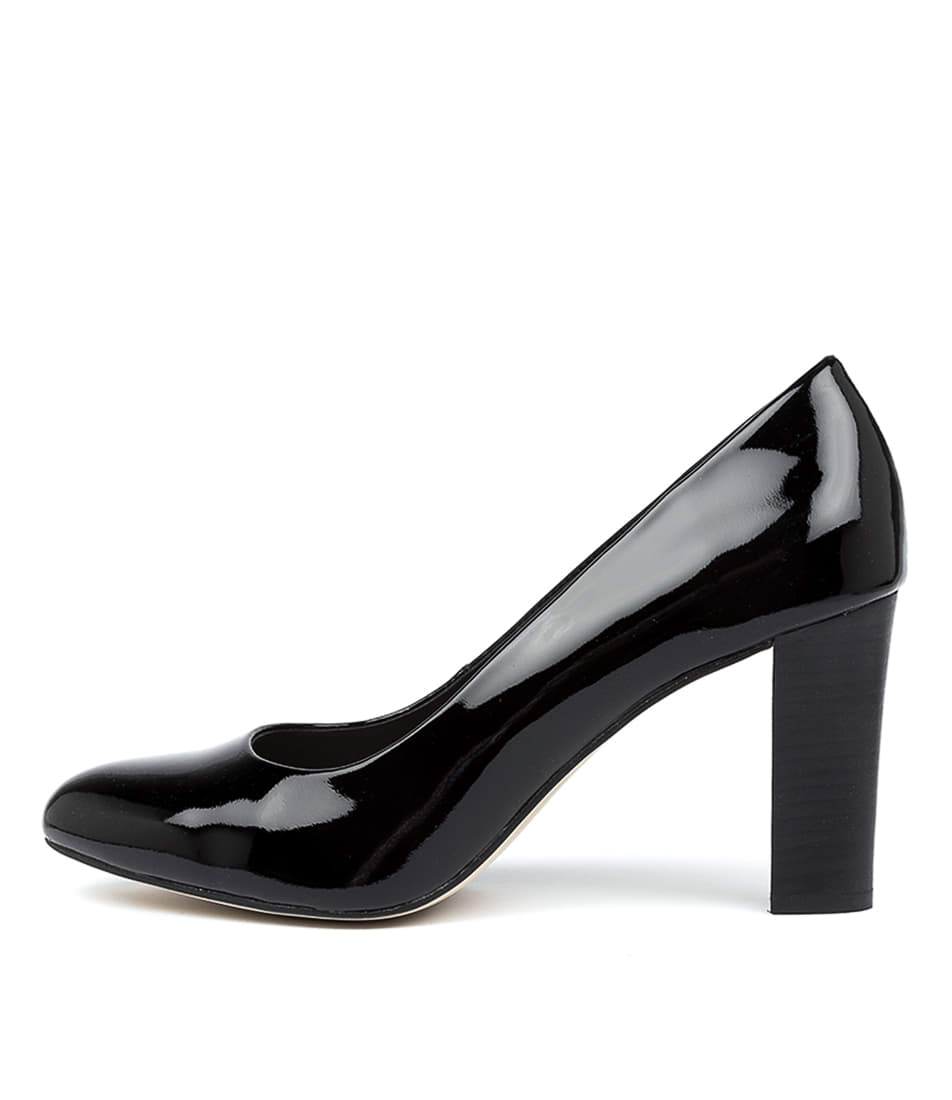Buy Diana Ferrari Lorikeet Black High Heels online with free shipping