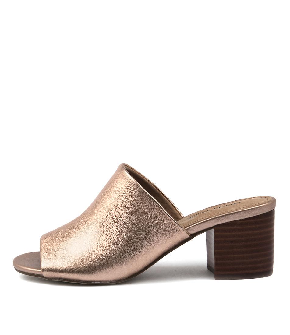 Diana Ferrari Asher Rose Gold Heeled Sandals