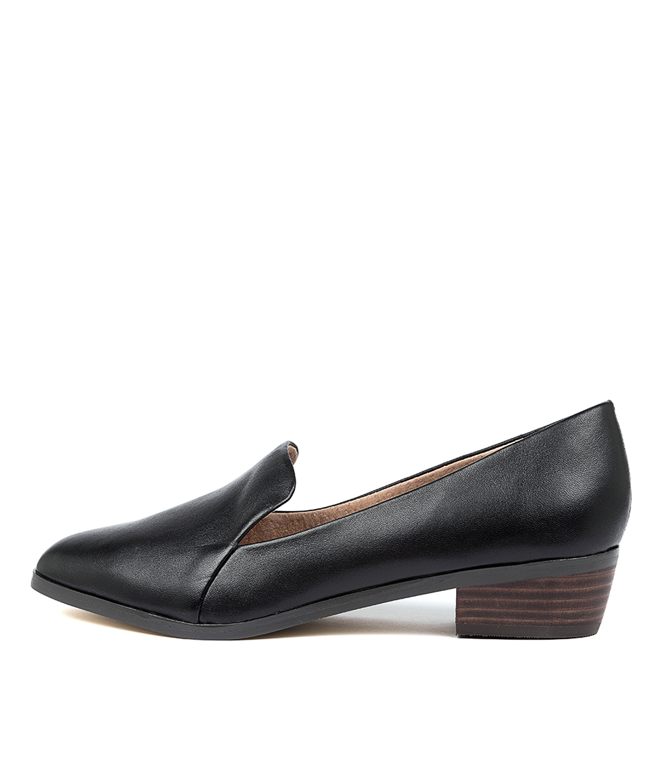 Buy Diana Ferrari Ali Black Heeled Shoes online with free shipping