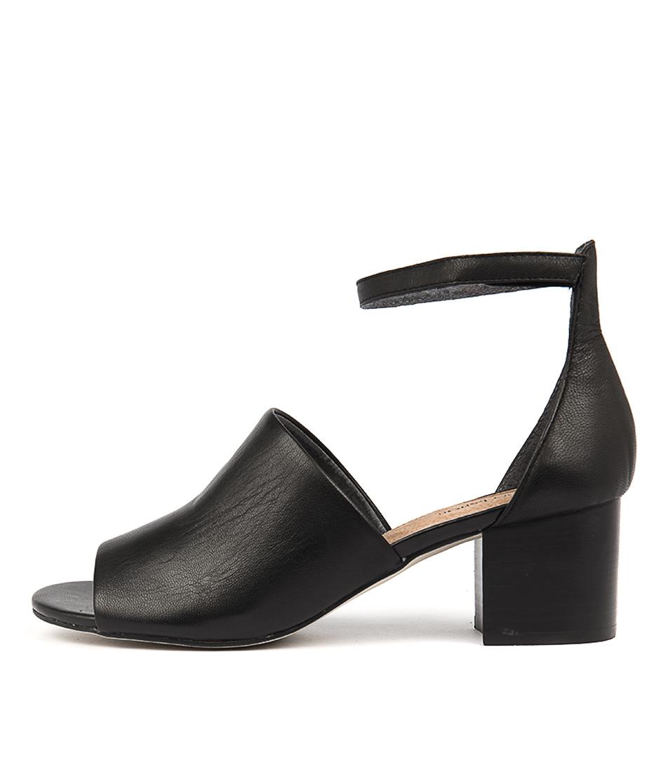 buy Diana Ferrari Africa Black Heeled Sandals shop Diana Ferrari Sandals online