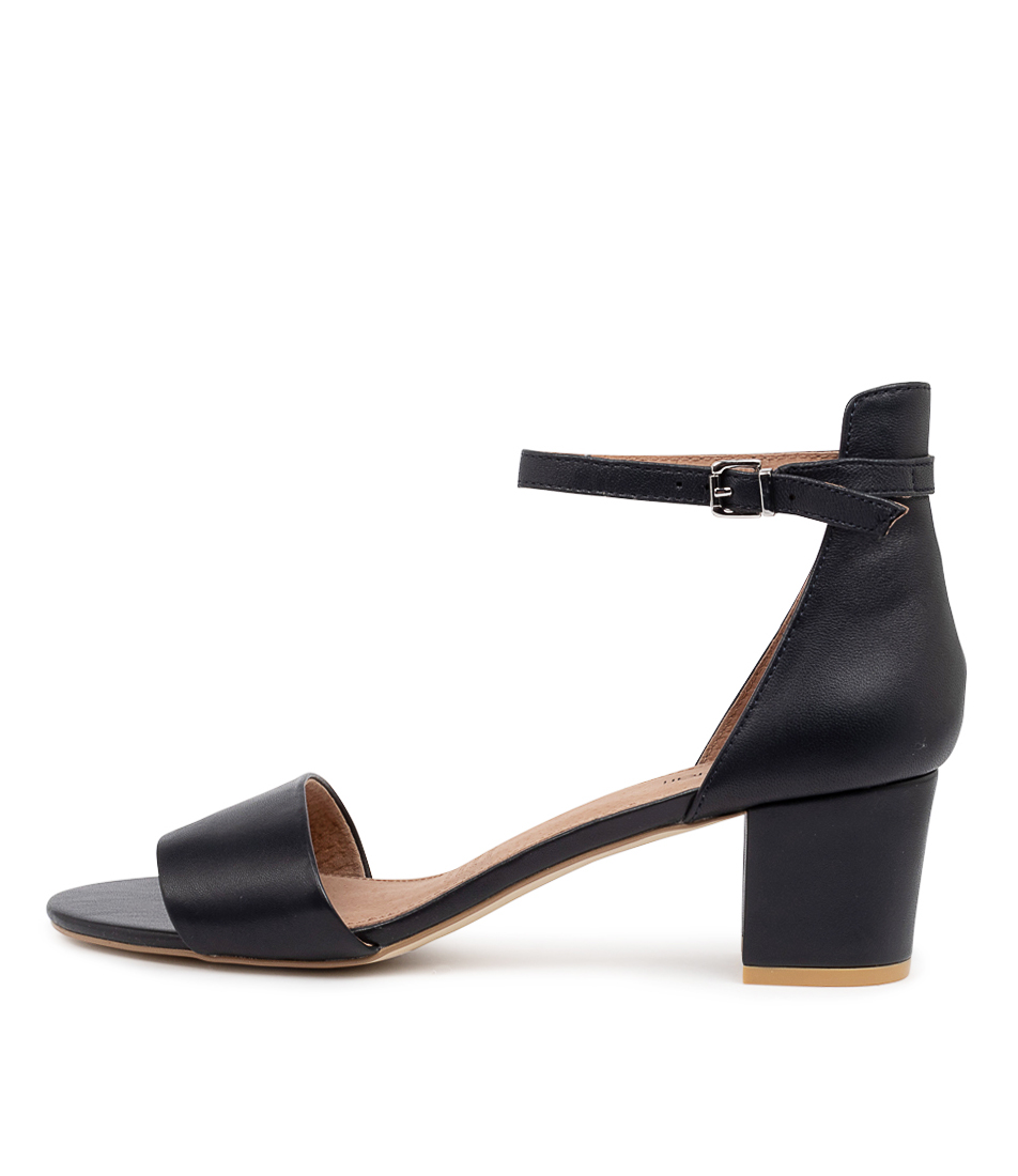 Buy Diana Ferrari Soco Navy Heeled Sandals online with free shipping