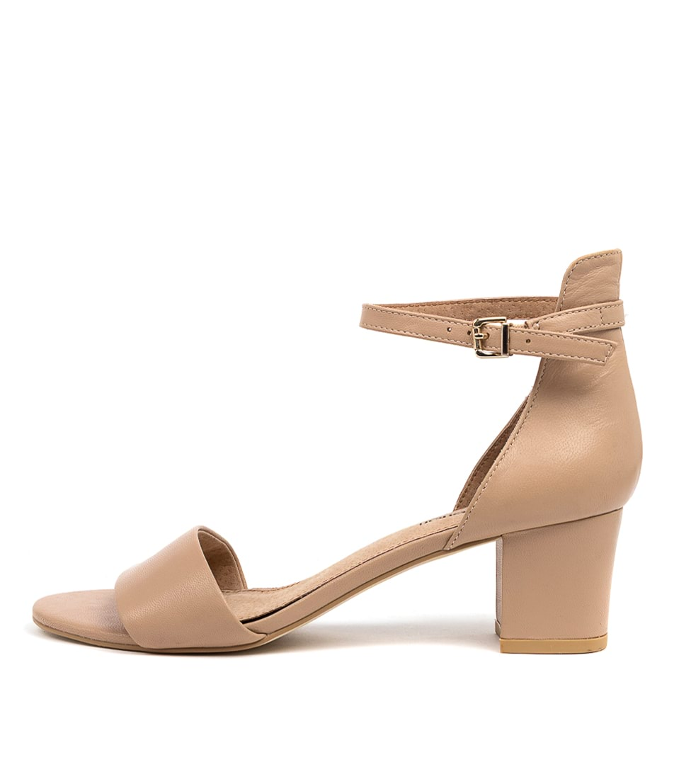 Buy Diana Ferrari Soco Nude Heeled Sandals online with free shipping