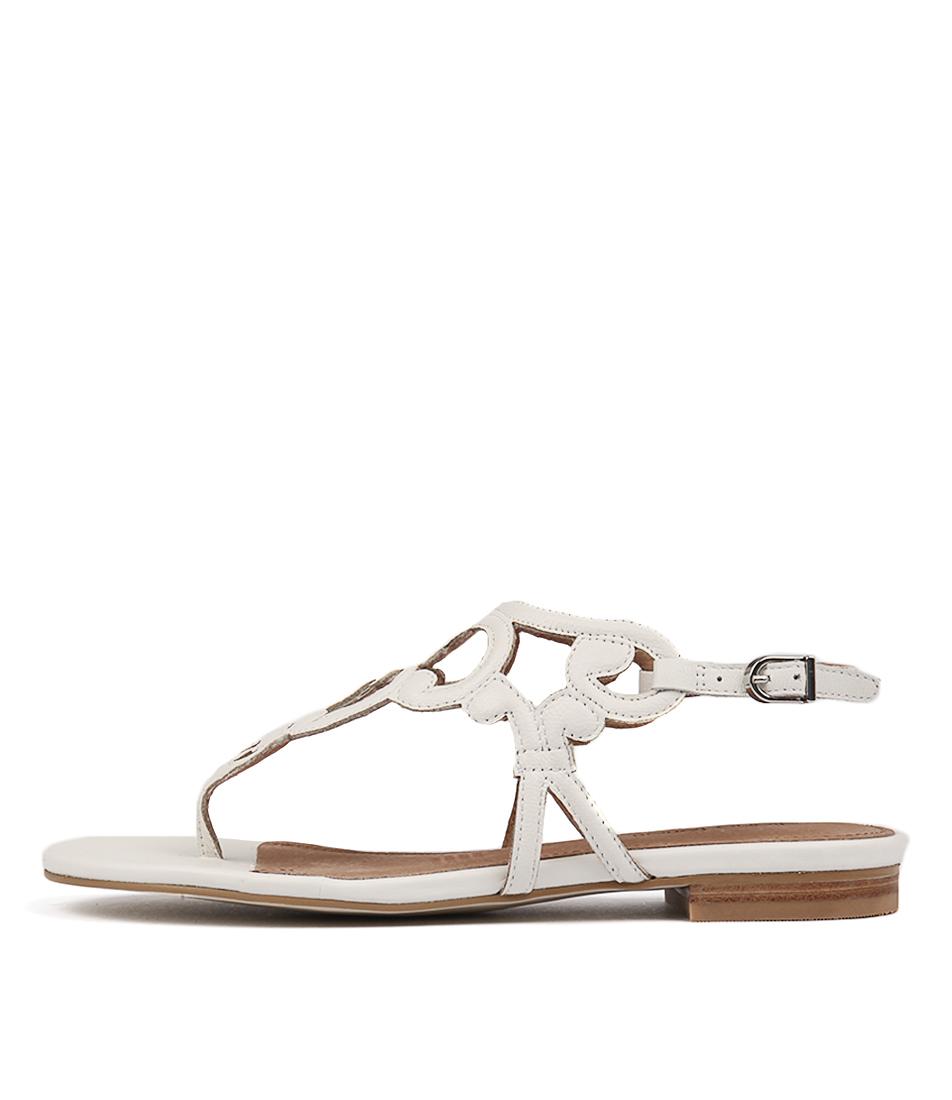 Diana Ferrari Koko White Sandals
