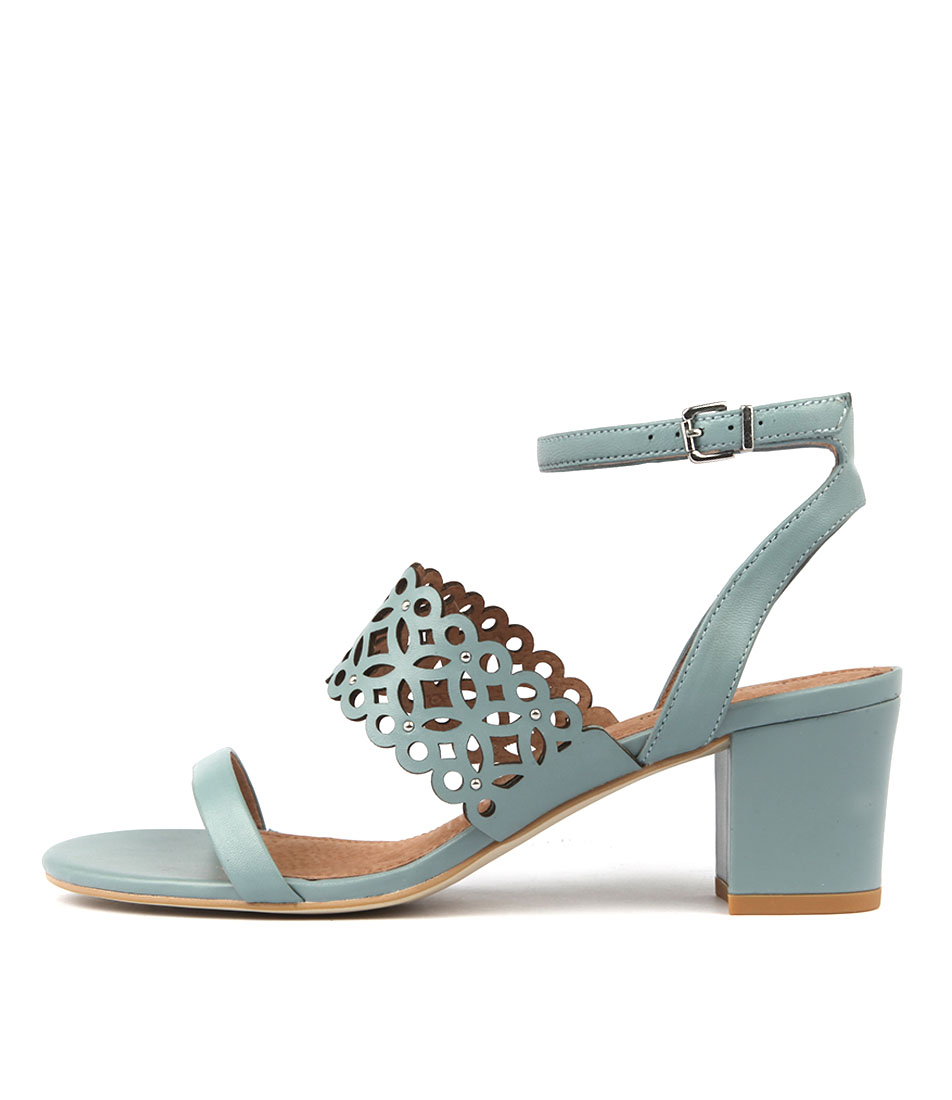 Diana Ferrari Starlit Sky Blue Heeled Sandals