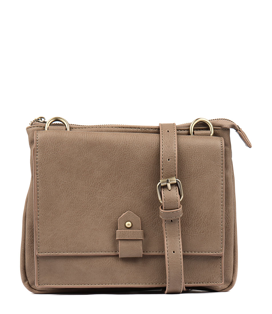 Diana Ferrari Joplin Cross Body Bag Taupe Cross Body Bag