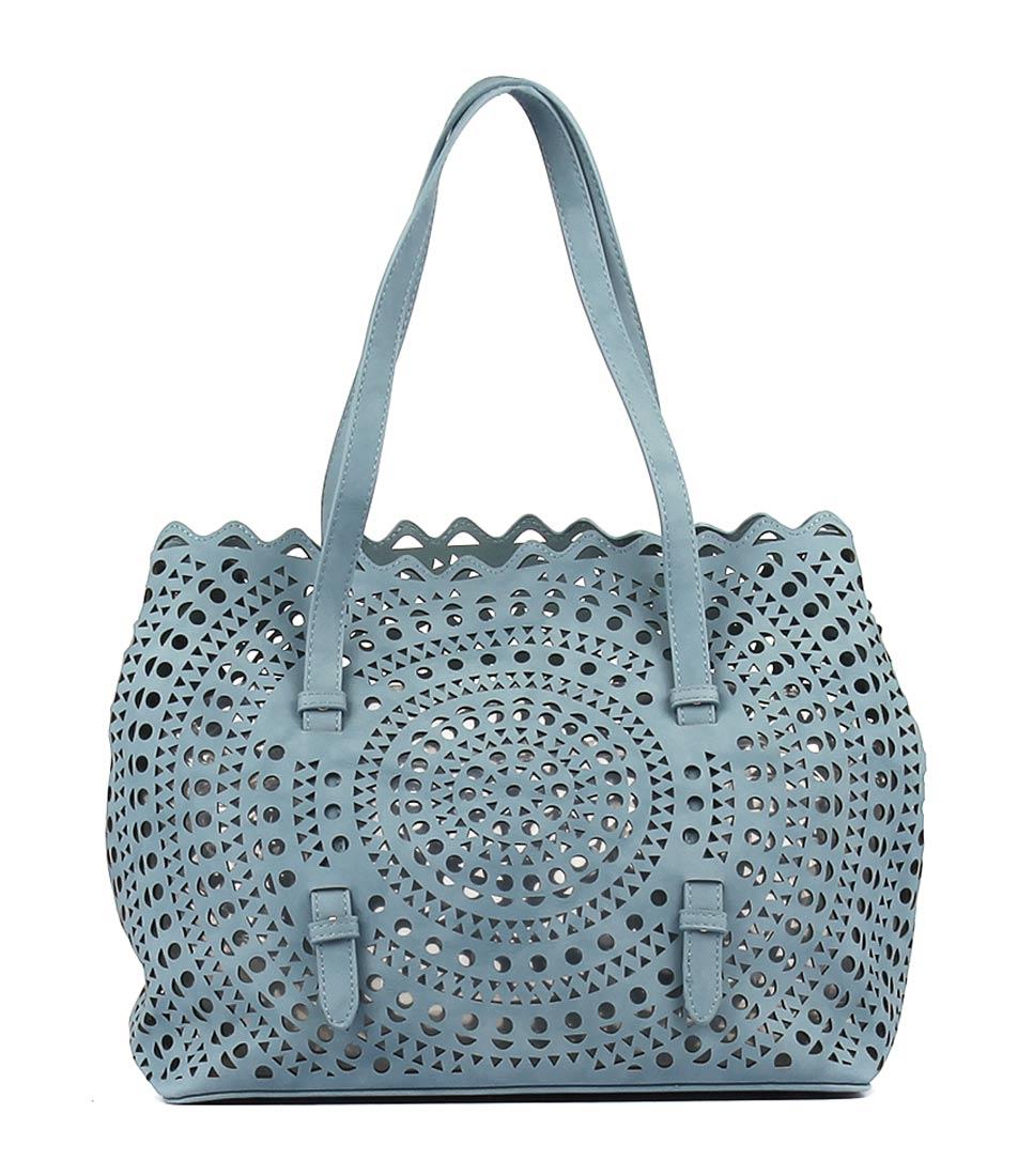 Diana Ferrari Margot Shoulder Bag Blue  Tote Bag