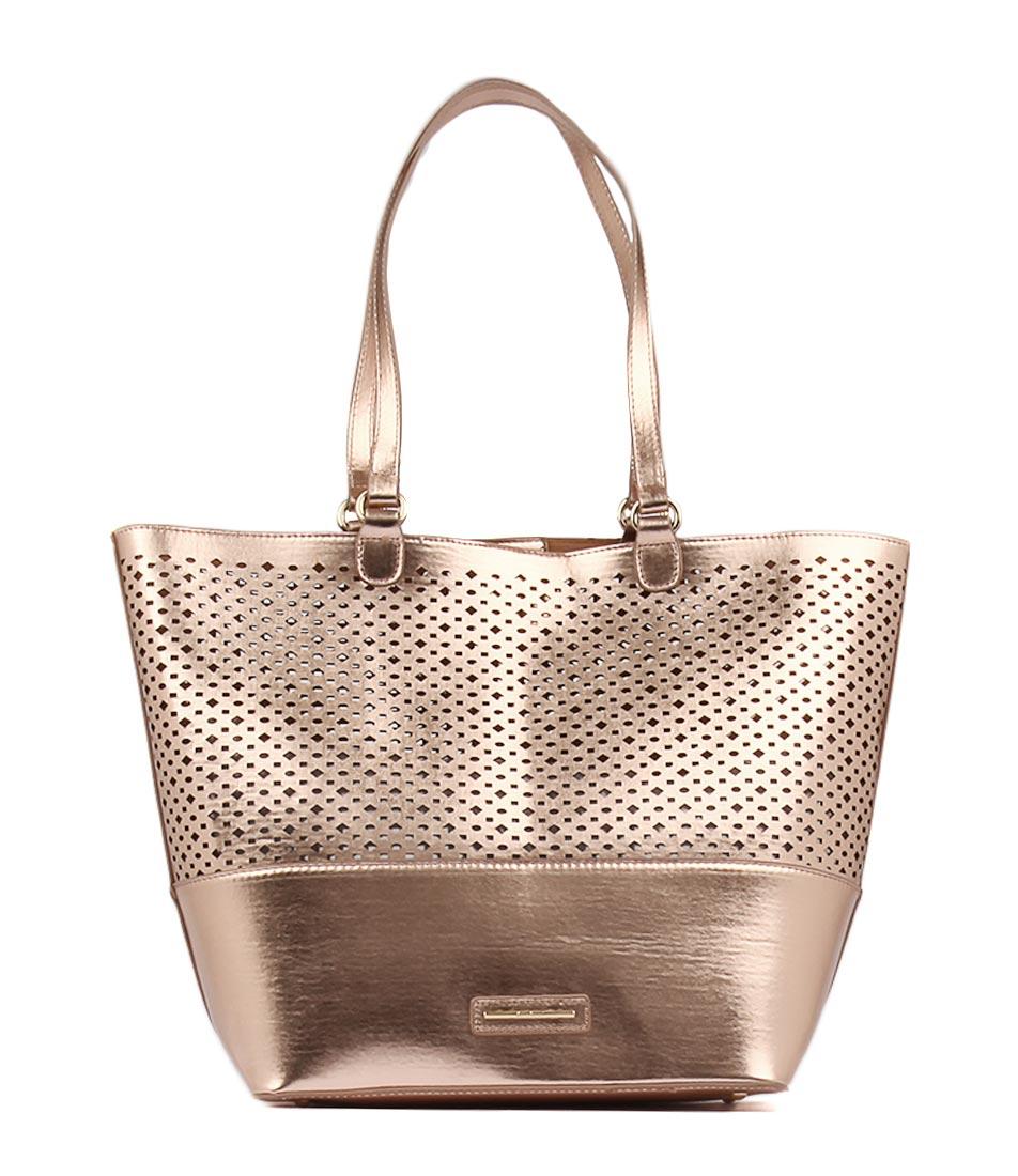 Diana Ferrari Maxine Tote Rose Gold Tote Bags