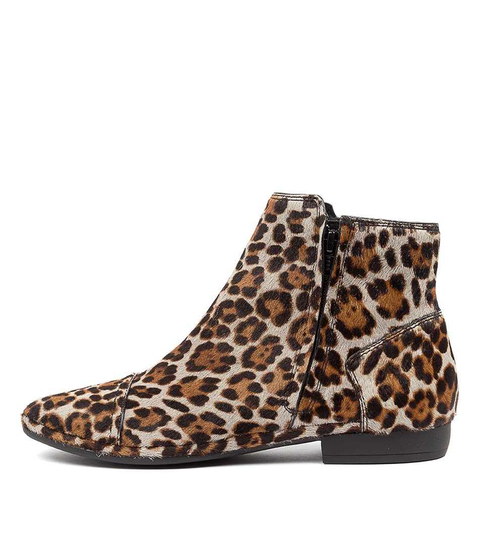 Buy Diana Ferrari Orville Df Grey Leopard Ankle Boots online with free shipping
