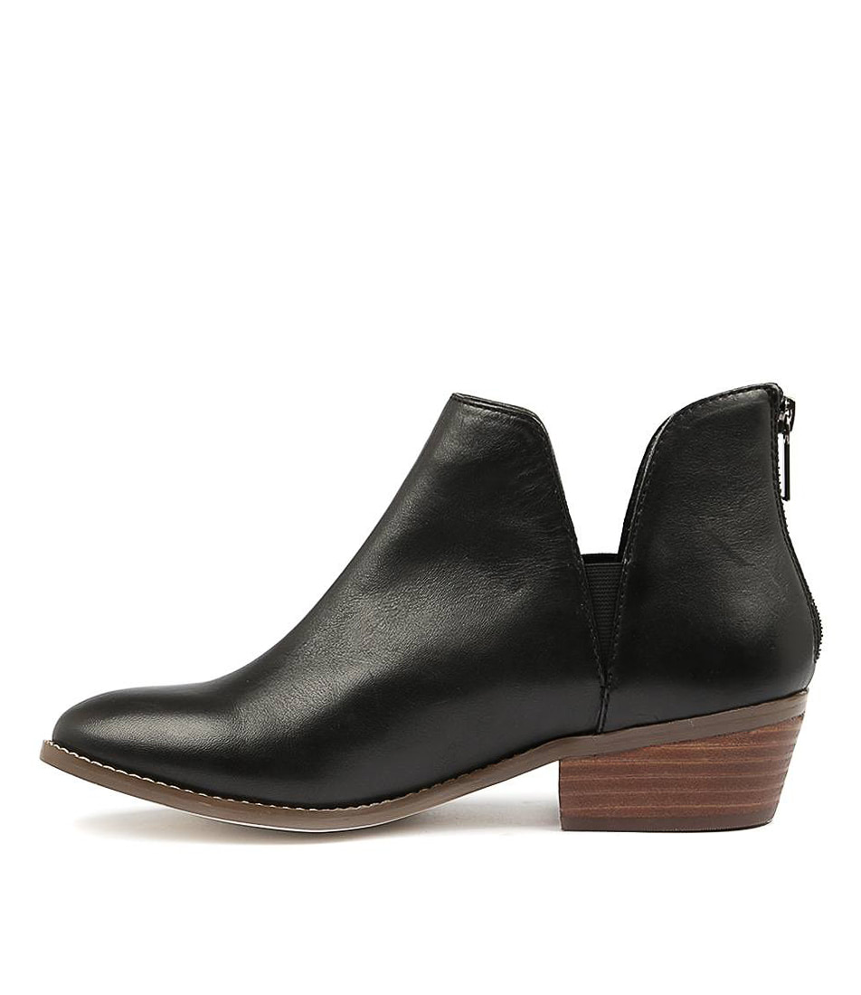 Buy Diana Ferrari Gemmah Black Ankle Boots online with free shipping