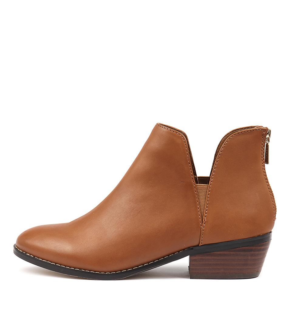 Diana Ferrari Gemmah Tan Ankle Boots