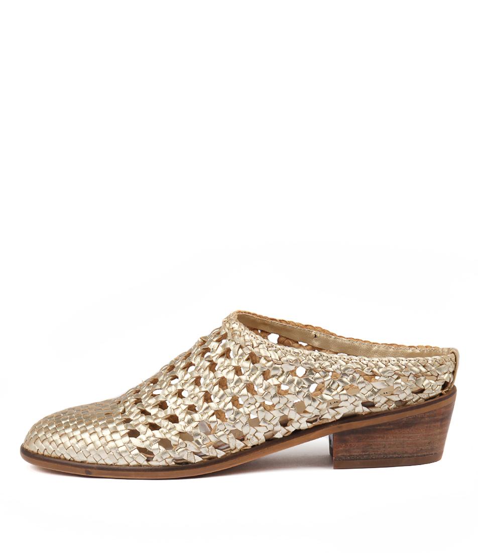 Diana Ferrari Delora Gold High Heels