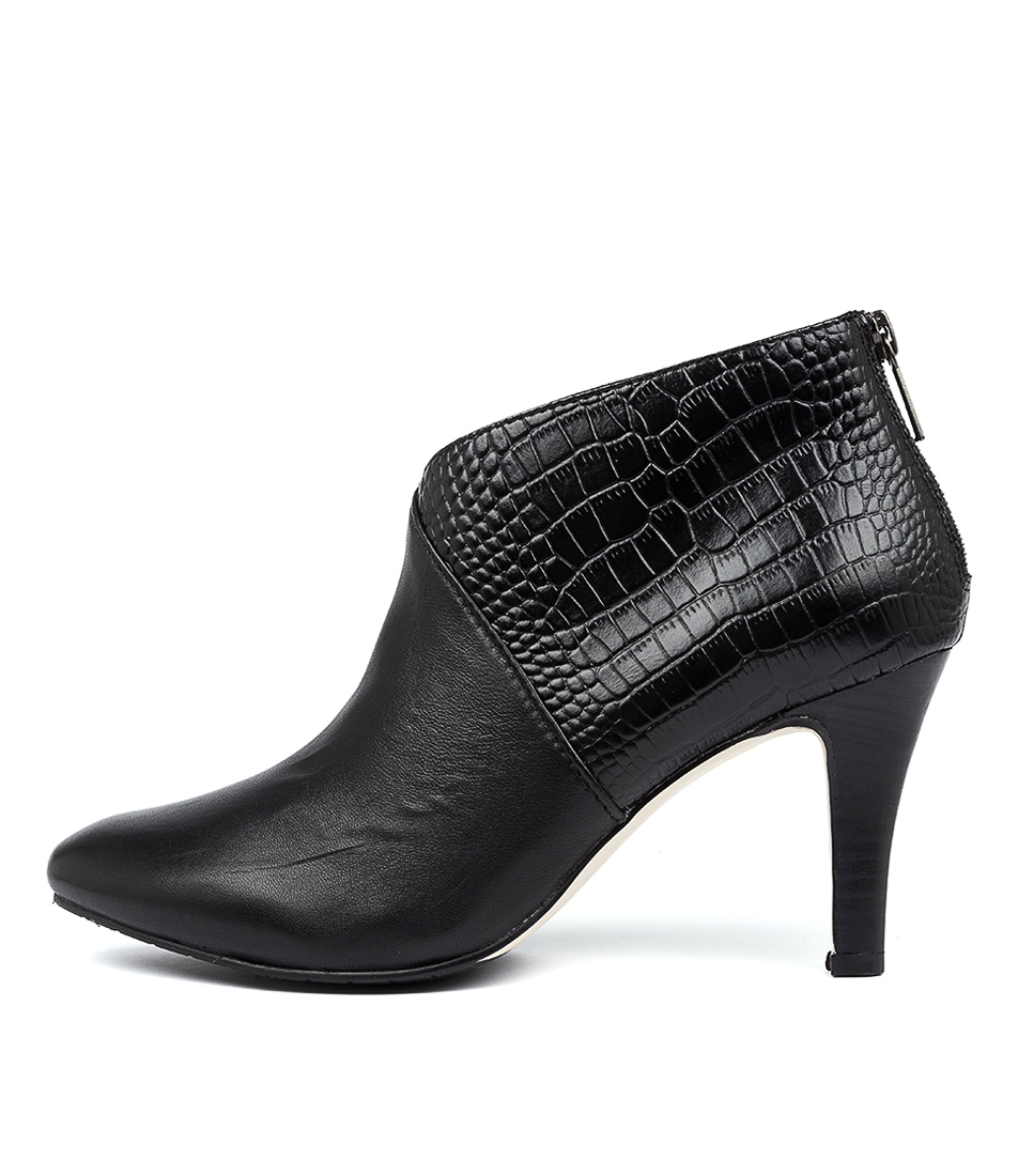 Buy Diana Ferrari Joy2 Black Dress Ankle Boots online with free shipping