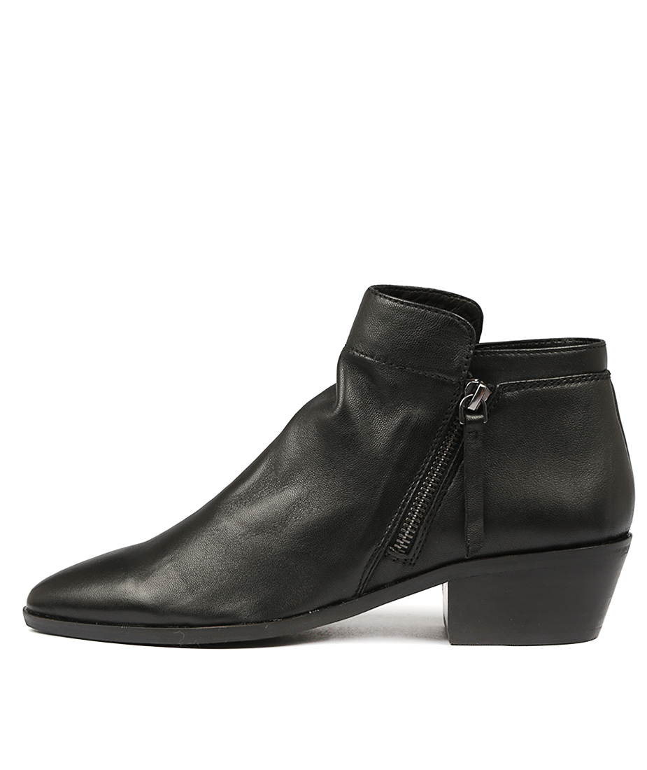 Diana Ferrari Wolfe Black Ankle Boots