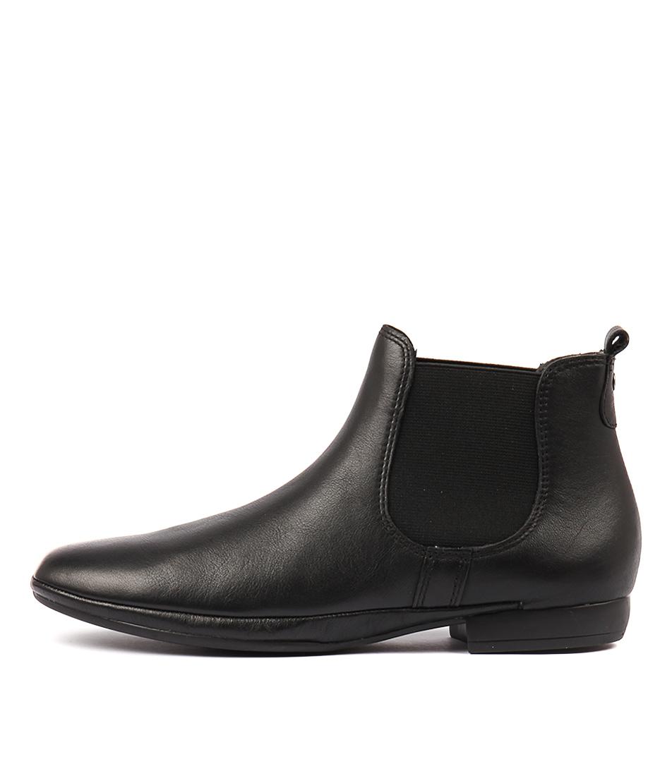 Diana Ferrari Ohanna Black Ankle Boots
