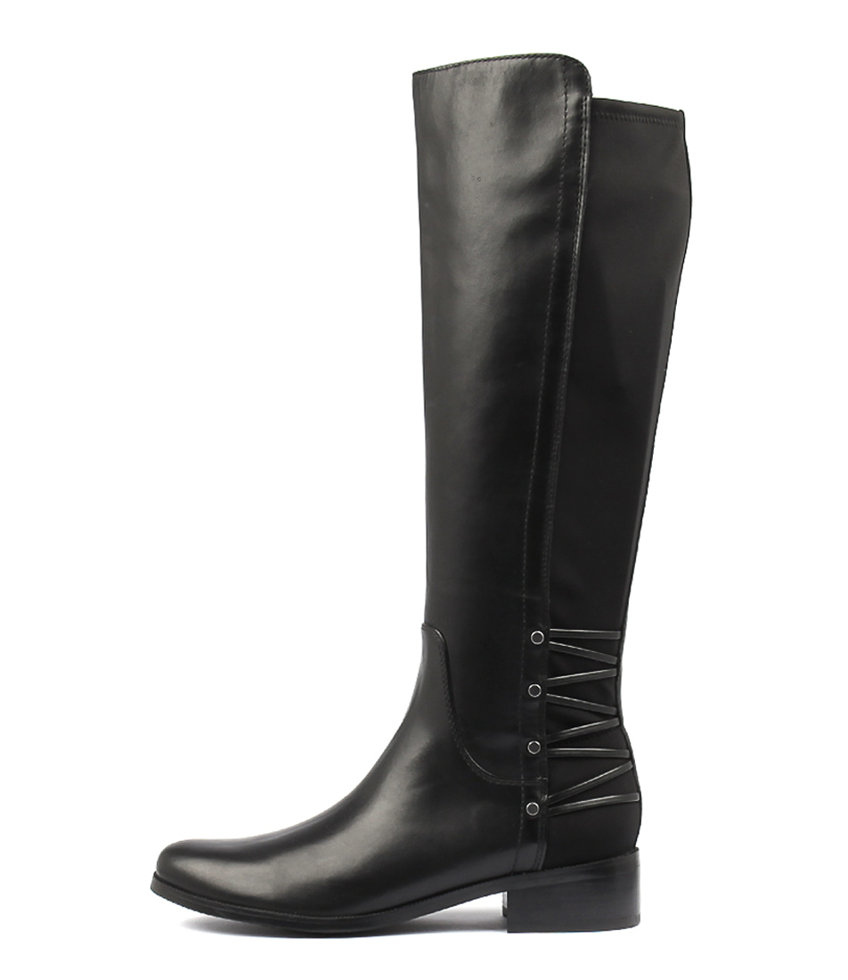 Diana Ferrari Ashland Black Comfort Long Boots