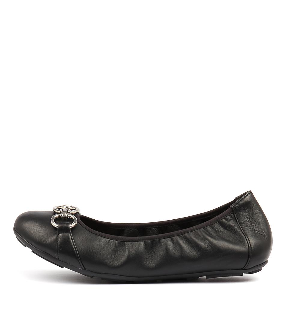 Diana Ferrari Hemingway Black Flats