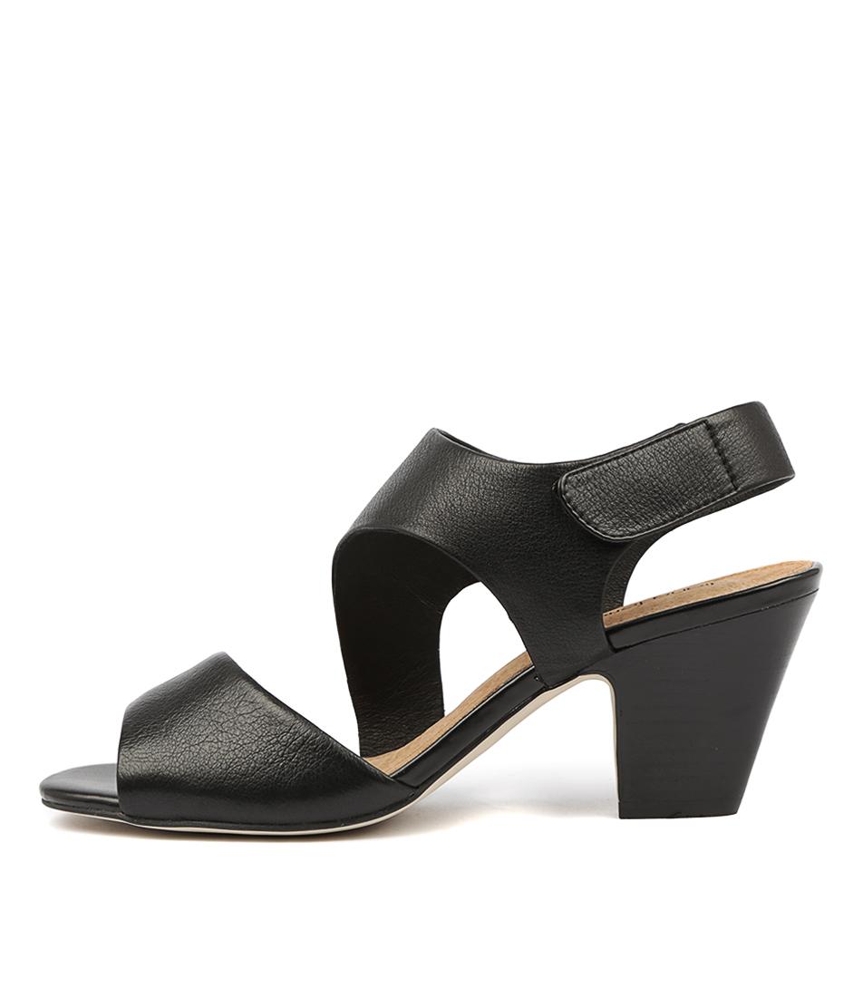 Buy Diana Ferrari Quai Black Heeled Sandals online with free shipping
